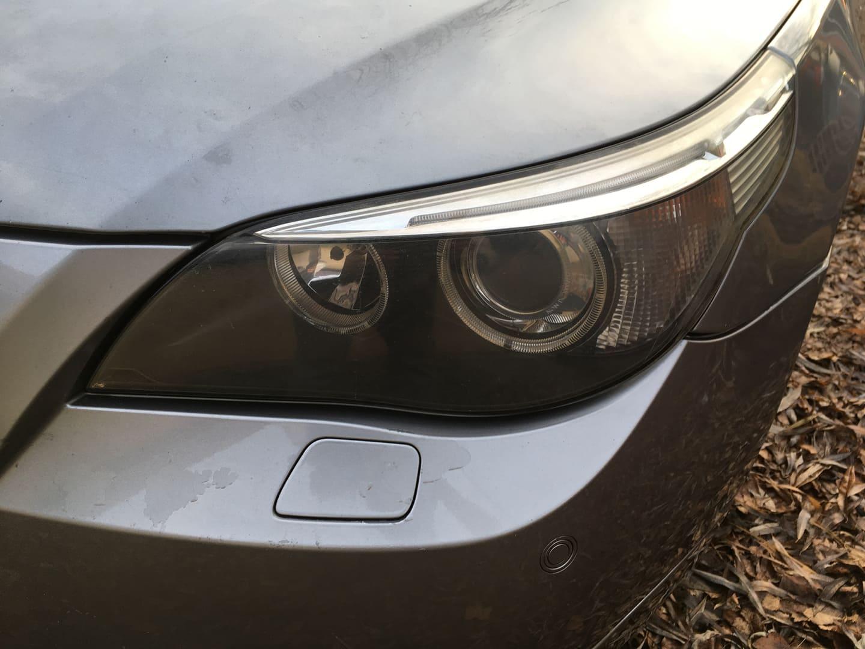 BMW alkatrészek - BMW E61 530XD-2 - Első lámpa - Carbon Car Center Kft. Békéscsaba 010