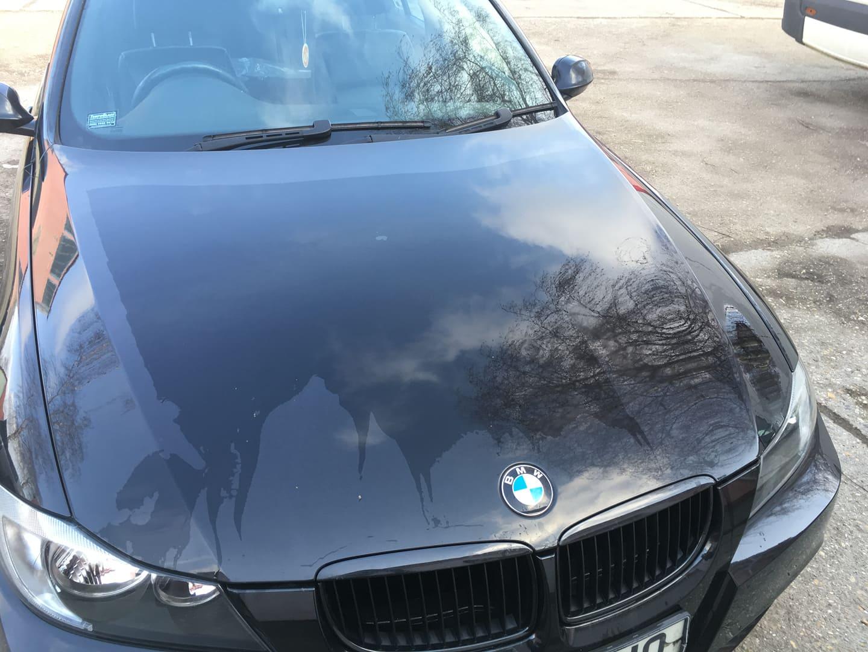 BMW alkatrészek - BMW E90 320D OL - Motorháztető - Carbon Car Center Kft. Békéscsaba 018
