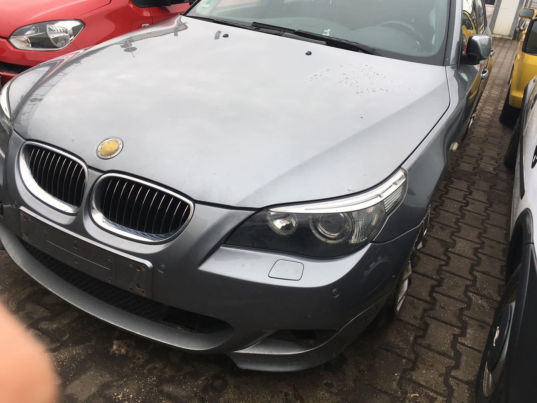 BMW alkatrészek - BMW E61 530XD - Motorháztető, lámpák - Carbon Car Center Kft. Békéscsaba 006