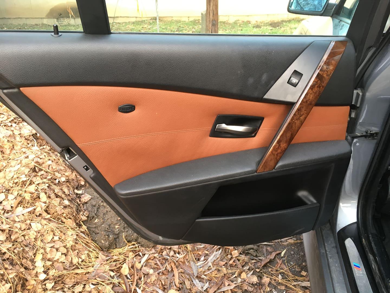 BMW alkatrészek - BMW E61 530XD-2 - Bal hátsó ajtó - Carbon Car Center Kft. Békéscsaba 022