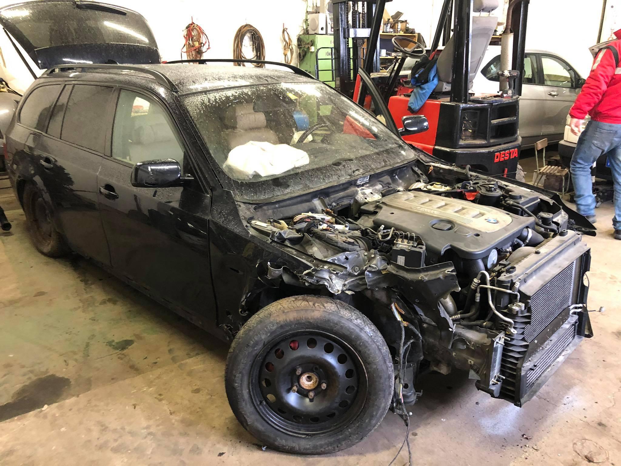 BMW alkatrész E61 330d Carbon Car Center Kft Békéscsaba-12