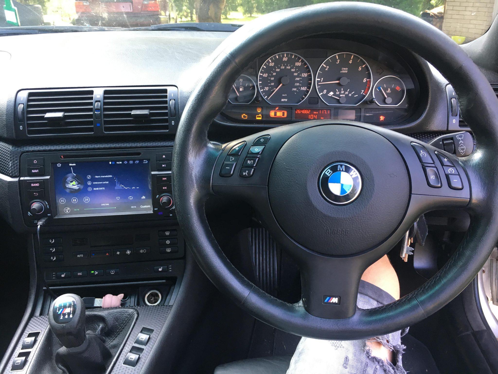 BMW E46 330ci alkatrészek Carbon Car Center Kft Békéscsaba-15