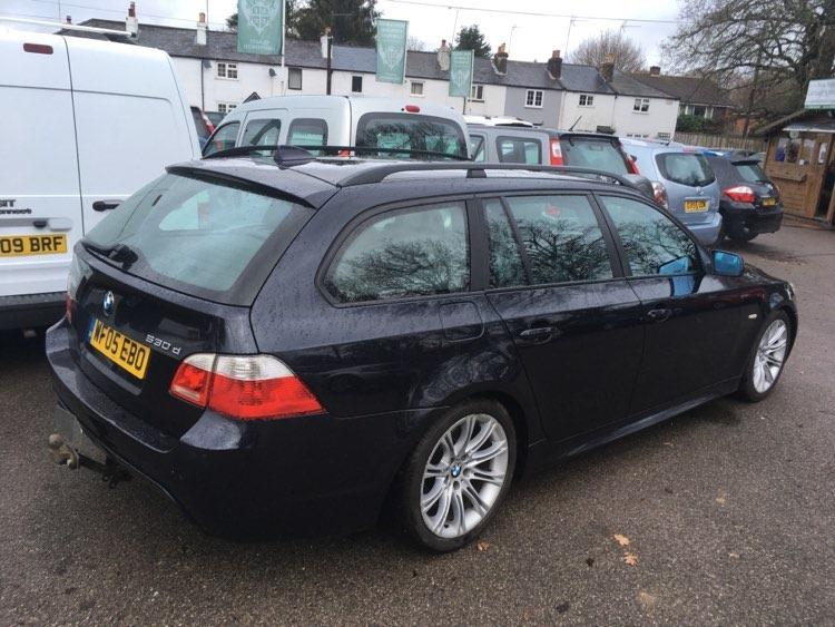 BMW E61 530d BMW bontó Békéscsaba Carbon Car Center Kft. Magyarország BMW autóbontója-3