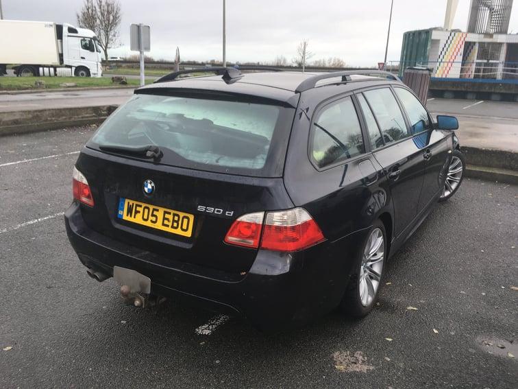 BMW E61 530d BMW bontó Békéscsaba Carbon Car Center Kft. Magyarország BMW autóbontója-2