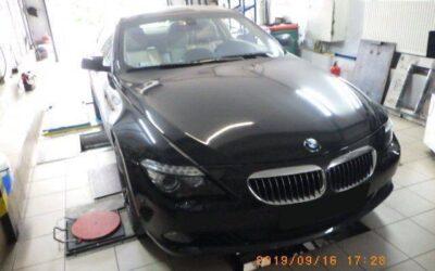 BMW E63 635d lci